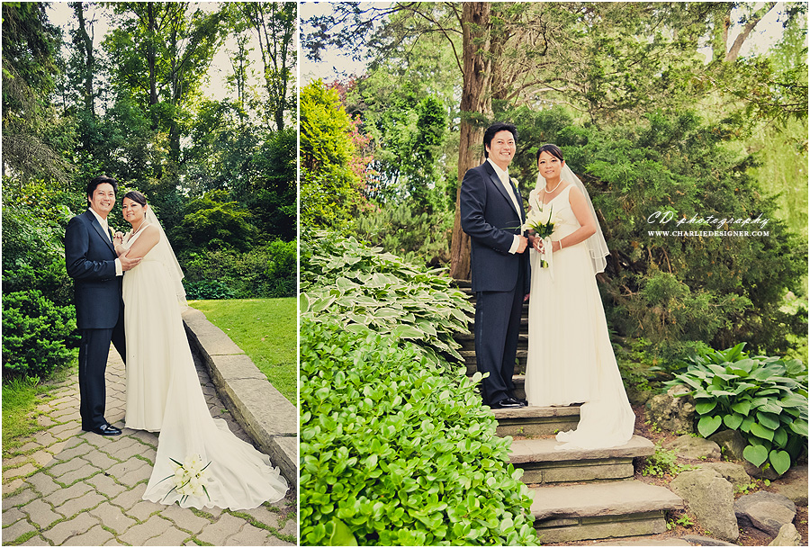 Edwards Gardens Wedding